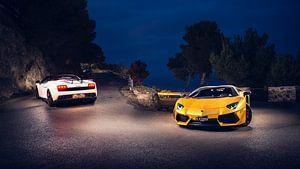 Lamborghini duo van