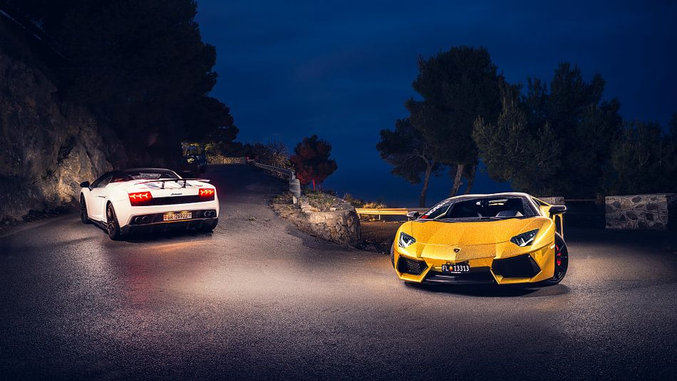 Lamborghini duo van Ansho Bijlmakers