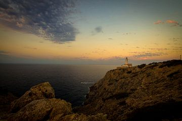 Leuchtturm in Cala Rajada van Gregor Luschnat