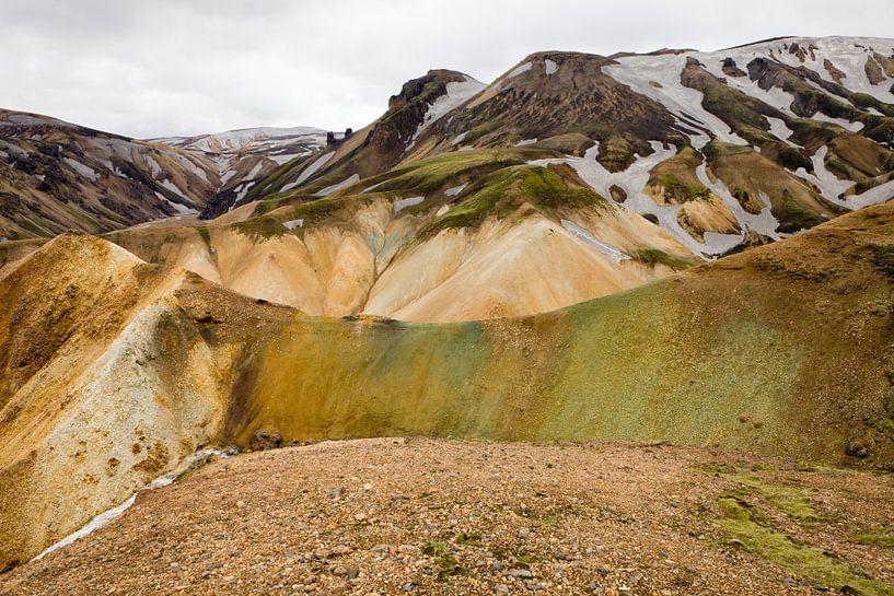 Iceland Landmannalauga van Eriks Photoshop by Erik Heuver