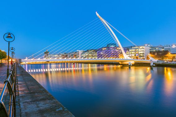 Samuel Beckett Bridge, Dublin, Ireland van Henk Meijer Photography