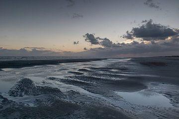 Sonnenuntergang über Ameland von Lianne van Dijk