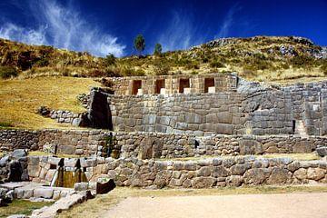 Tambomachay in Peru van Yvonne Smits