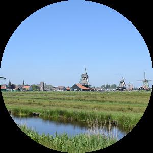 windmolens zaanse schans van Jeroen Franssen