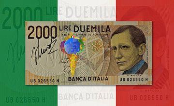 Bankbiljet Italië JM0204 van Johannes Murat