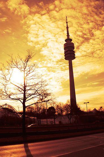 Munich tv toren van Falko Follert