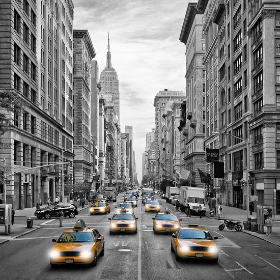 5th Avenue NYC Verkeer