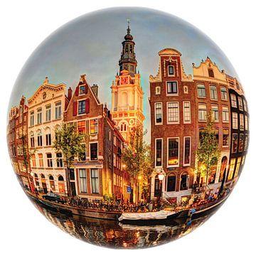 Zuiderkerk Amsterdam Runde Bol von Hendrik-Jan Kornelis