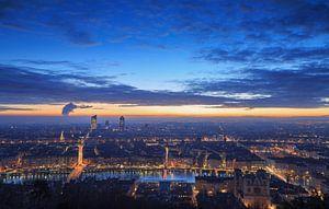 Lyon at dawn