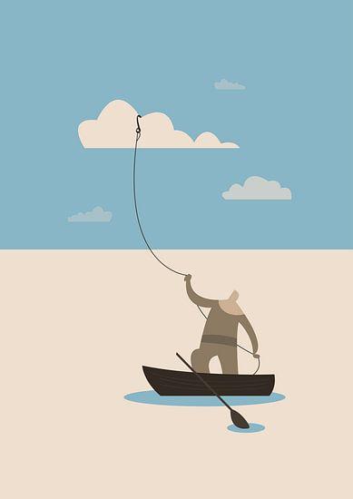 The fisherman van Rene Hamann