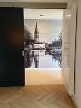 Klantfoto: Reflectie Breda Spanjaardsgat van JPWFoto, als naadloos behang