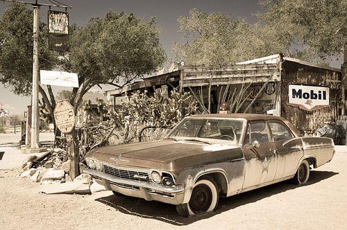 Chevrolet, antieke auto van Inge van den Brande