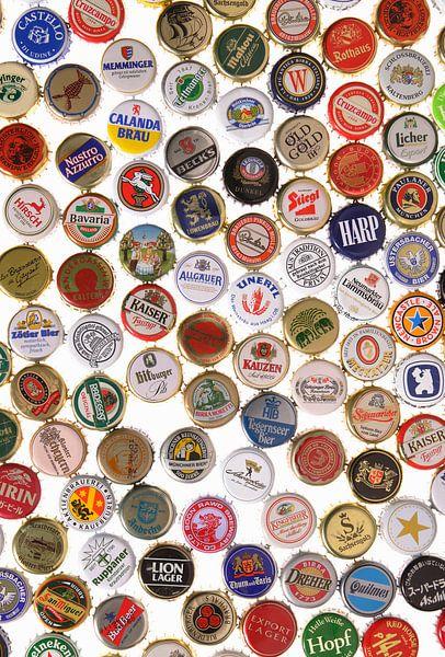 Kroonkurken van verschillende biersoorten van BeeldigBeeld Food & Lifestyle