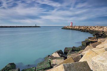 Scheveningen, havenhoofd noord, Nederland van Ineke Nientied