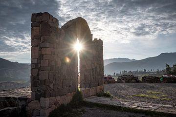 Colca Canyon Sonne von Eerensfotografie Renate Eerens