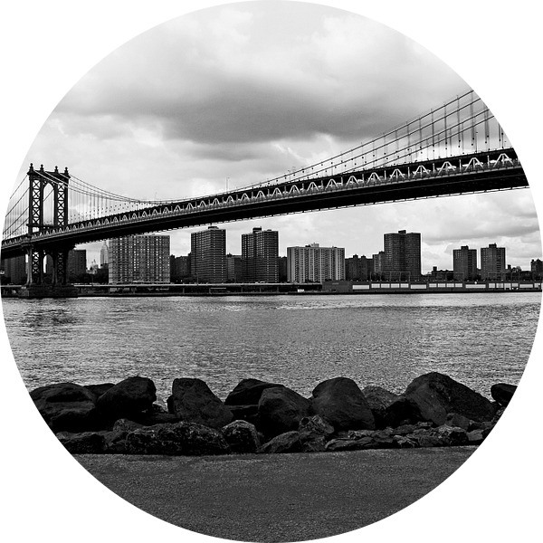new york city ... manhattan bridge I van Meleah Fotografie