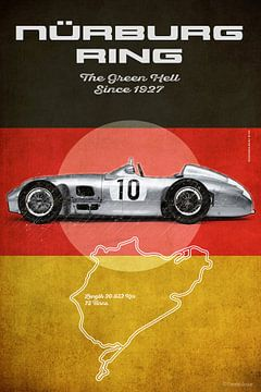 Nurburgring Vintage MB van Theodor Decker