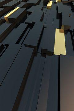 Block Struktur Nr1 - Bronze van