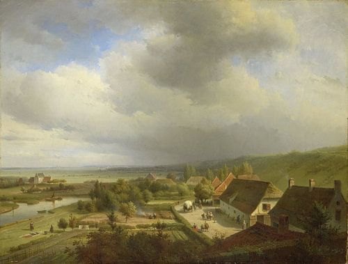 Heuvellandschap bij Wageningen