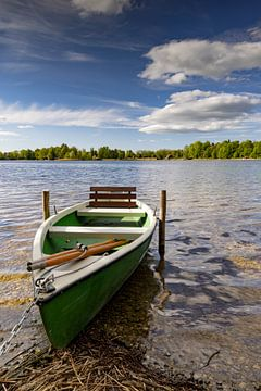 Ruderboot am Staffelsee