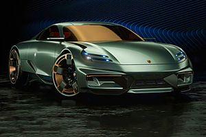 Porsche Cyber 6, Sportwagen. Konzeptfahrzeug