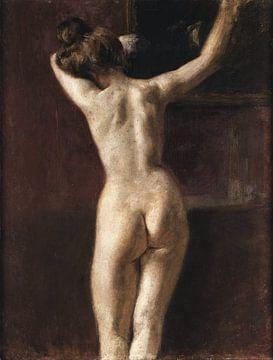 Mariano Fortuny y Madrazo, Weiblicher Akt von hinten von Atelier Liesjes