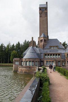 Jachthuis van echtpaar Kröller-Müller op de Hoge Veluwe van André Hamerpagt