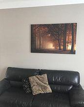 Klantfoto: la lumière van Rob Visser, op canvas