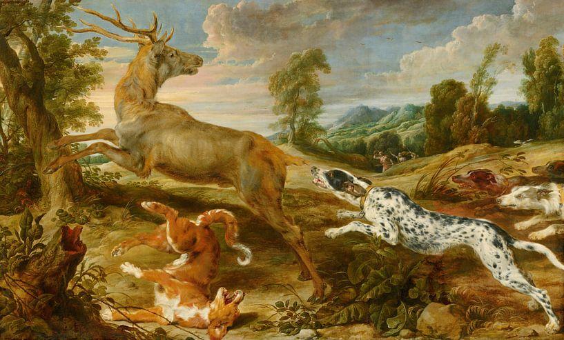 Hirschjagd, Paul de Vos, Jan Wildens. von Meesterlijcke Meesters