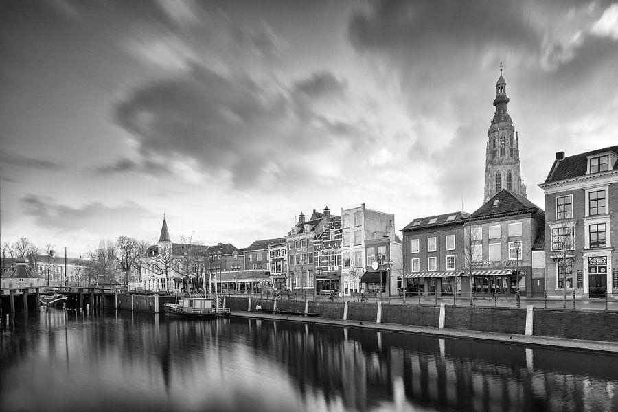 Breda zicht op Passantenhaven