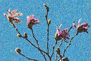 Magnolie a la van Gogh von Artelier Gerdah
