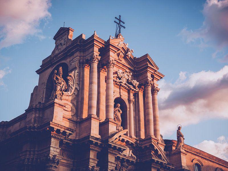 Kathedraal van Syracuse (Sicilië) van Alexander Voss