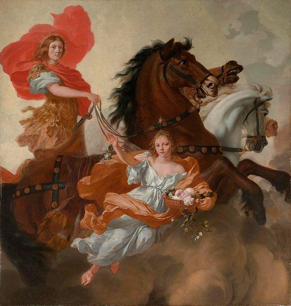 Apollon und Aurora, Gerard de Lairesse von Meesterlijcke Meesters