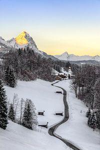 Wintermorgen in Wamberg von