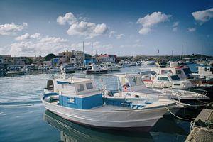 Hafen Lampedusa von Elianne van Turennout