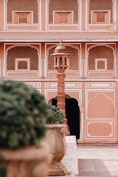 Architectuur City palace | Jaipur, India | Reis fotografie van Lotte van Alderen