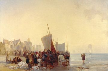 Fischmarkt, Richard Parkes Bonington