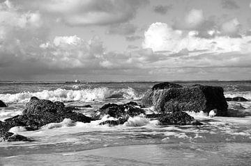 Water, wind en Wolken van Wies Steenaard
