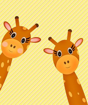 giraffen van Marion Tenbergen