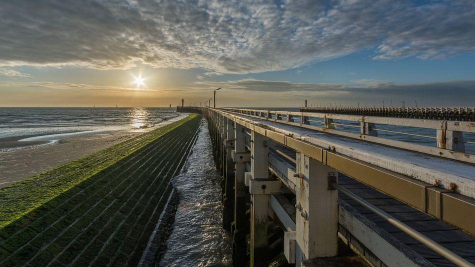 Zonsondergang Nieuwpoort
