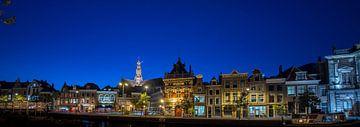 stadsgezicht Haarlem met de grote kerk van Arjen Schippers