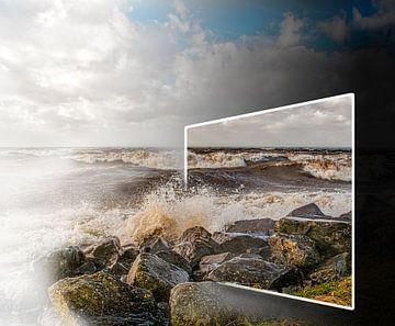 Storm bij Urk von Robin Pics (verliefd op Utrecht)
