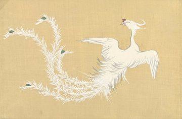 Weißer Phönix von Kamisaka Sekka, 1909