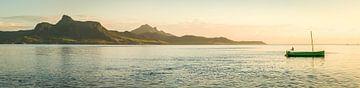 Zonsondergang op Mauritius van Sebastian Leistenschneider
