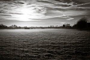 landschap in rijm II van Toon Maes