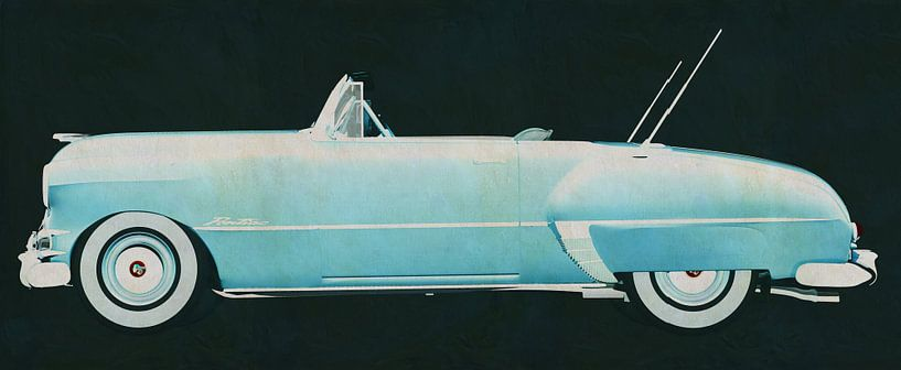 Pontiac Chieftain 1950 van Jan Keteleer