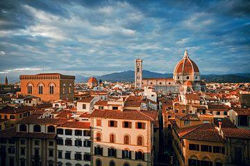 Florence Skyline van Alexander Voss