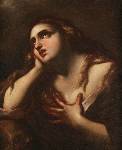 Felice Ottini, Reuige Magdalena - 1697 von Atelier Liesjes