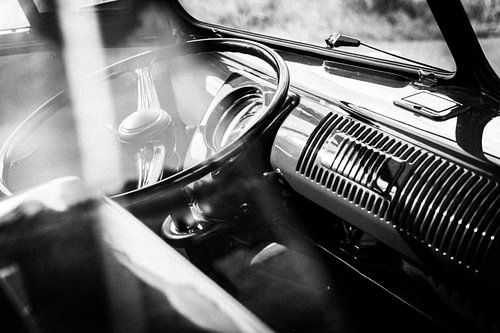 1959 Volkswagen T1 interieur van