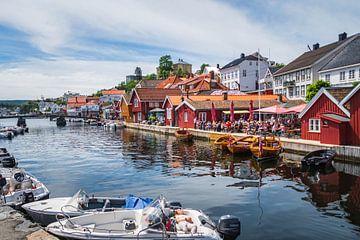 Die norwegische Stadt Kragerø von Evy De Wit